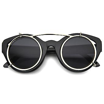 Mens Oversized Sunglasses With UV400 Protected Composite Lens