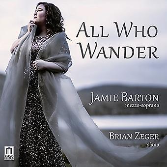 Dvorak / Mahler / Barton / Zeger - All Who Wander [CD] USA import