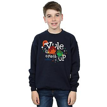 National Lampoon's Christmas Vacation Boys Yule Crack Up Sweatshirt