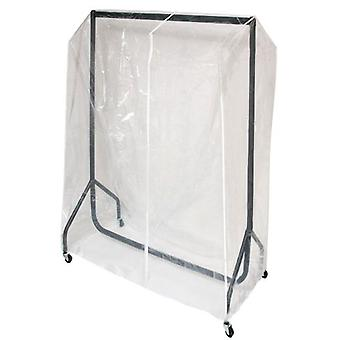 3ft Clothes Rail Cover Clear Heavy Duty PVC Zipped by Caraselle
