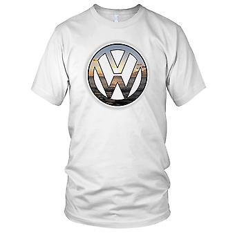 VW zonsondergang Design Mens T Shirt