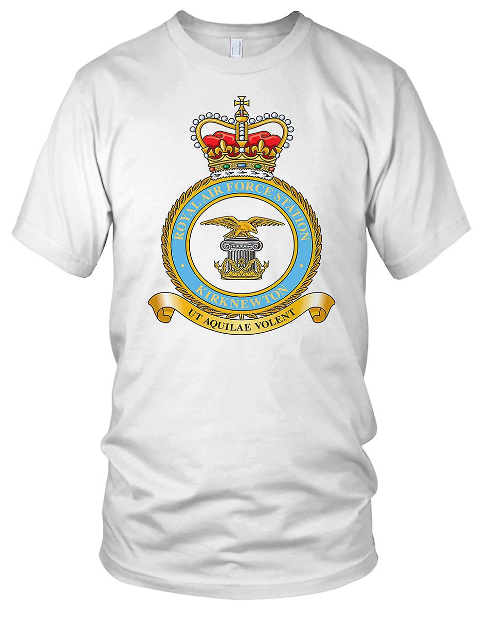 RAF Royal Air Force Kirknewton damer T skjorte
