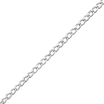 Plain - 925 Sterling Silver Single Chains - W21814X