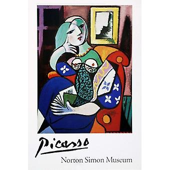 Woman with Book Poster Print by Pablo Picasso (23 x 34)