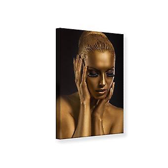 Canvas tulostaa Gold-Face