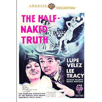 Halv nøgne sandhed [DVD] USA importerer