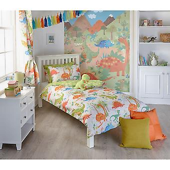 Riva Home Dinosaur Childrens/Kids Duvet Set