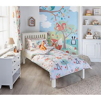 Riva Home Woodland Childrens/Kids Duvet Set