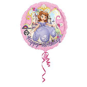 Amscan 18 tuuman Disney Sofia ensimmäinen hyvää syntymä päivää pyöreä folio Balloon