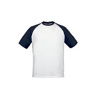 ב & ג ' ני Mens 2 טון שרוול קצר חולצת בייסבול