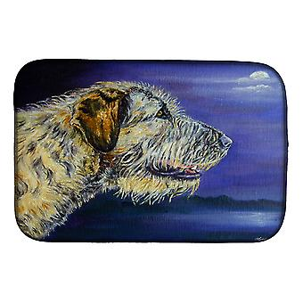 Carolines Treasures  7352DDM Irish Wolfhound Looking Dish Drying Mat