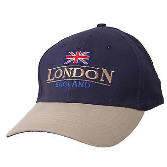 London England GB Union Jack Embroidered Baseball Cap