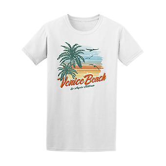 Tropical solnedgang Venice Beach Tee menn-bilde av Shutterstock
