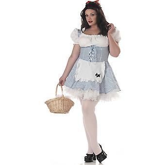 Der Zauberer von Oz Dorothy Frauen Kostüm, Plus Size