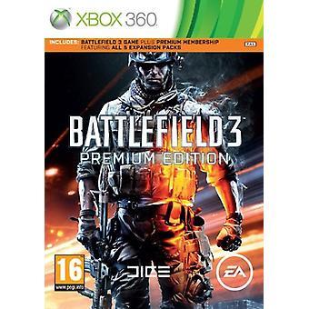Battlefield 3 Premium Edition (Xbox 360)-fabriks forseglet