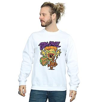 Scooby Doo Men's Pizza Ghost Sweatshirt