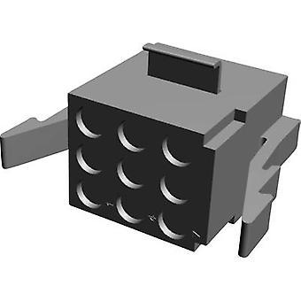 Caja de TE conectividad conector - cable MATE-N-LOK total de espacio de contacto de pines 9: 5,08 mm 1-480274-0 1 PC