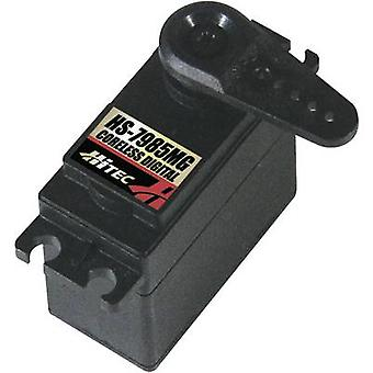 Hitec Standard servo HS-7985MG Digital servo Gear box material: Metal Connector system: JR