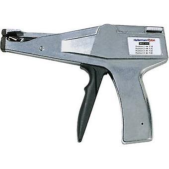 HellermannTyton 110-03500 MK3SP handmatige kabel Tie Tool grijs, zwart