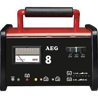 AEG WM 8 2AEG97008 industriel chargeur 6 V, 12 V 7.2 A 8 A