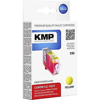 KMP Ink replaced Canon CLI-526 Compatible Yellow C85 1515,0009
