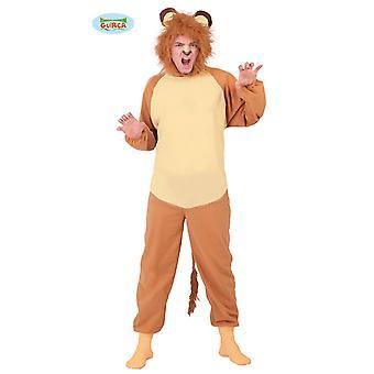 Costume animale leone per adulto unisex gatto grande di Carnevale Leone
