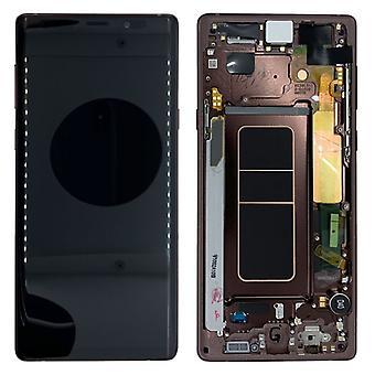 Samsung Display LCD להציג ערכת להשלים GH97-22269D חום עבור הערה גלקסי 9 N960F החלפת