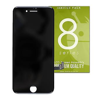 Black Premium Quality LCD Screen For iPhone 8