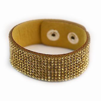 Armband blingbling goud
