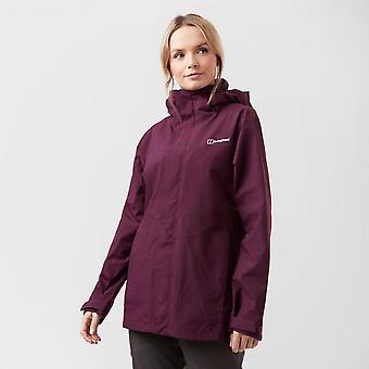 New Berghaus Women's Maitland Gore-Tex Walking Hiking Jacket Purple