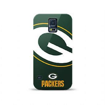 Mizco deportes NFL de gran tamaño caso de TPU para Samsung Galaxy S5 (Green Bay Packers)
