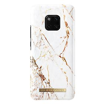 iDeal Of Sweden Huawei Mate 20 Pro Marble Shell-Carrara Gold
