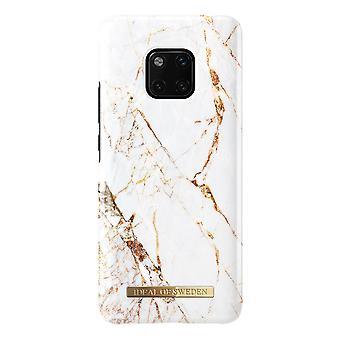 iDeal af Sverige Huawei Mate 20 Pro marmor Shell-Carrara guld