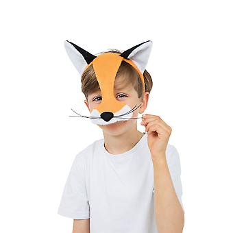 Fox Half Face Eye Mask