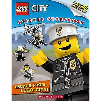 Lego City - Escape from Lego City! - Sticker Storybook by Scholastic -