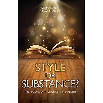 Stil eller ämne?: arten av True Christian Ministry