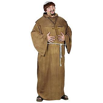 Medievel munkki aikuisten puku