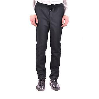 Brian Dales Ezbc126013 Men's Grey Wool Pants