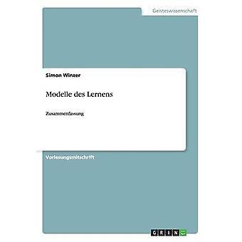 Modelle des Lernens by Winzer & Simon