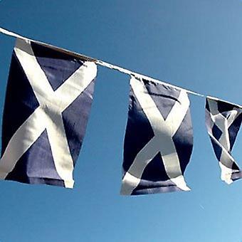 Écosse drapeau Bunting, tissu 9m/30 drapeaux New