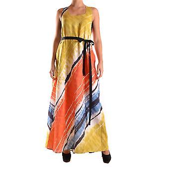 Liviana Conti Ezbc261029 Dames's Multicolor Linnen jurk