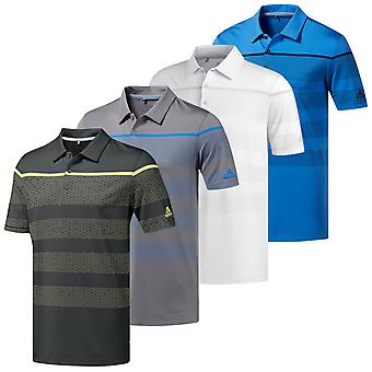 Adidas Golf mens Ultimate365 Dash streep Polo shirt