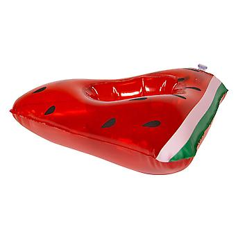 Beverage holder inflatable watermelon melon 17x17 cm pool party drinkholder cocktail holder