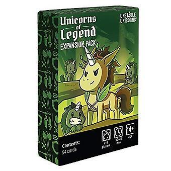 Unicórnios instáveis do pacote de expansão Legend