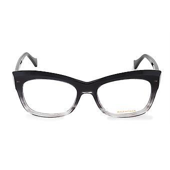 Balenciaga BA 5069 001 52 Rechteckige Katze BrilleN Rahmen