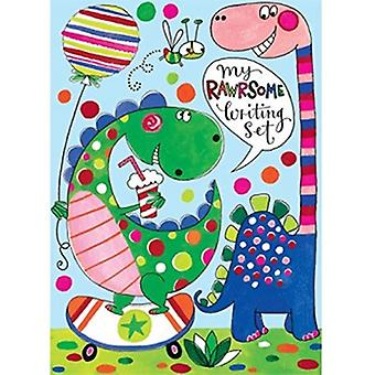 Rachel Ellen Girls Dinosaur Writing Set | Gifts From Handpicked