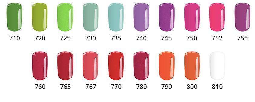 Gel polsk-Color IT-* 30 8g UV gel/LED