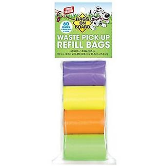 Bags On Board Rainbow Refill Bags (Pack Of 4)