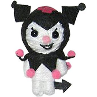 Cell Phone Charm Hello Kitty Kuromi Devil Toys String Doll vd-hk-0005