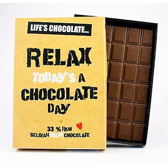 Śmieszne Pudełkowane czekolada cytat prezent dla mężczyzn kobiety najlepszy przyjaciel powitanie karta dla niego lub jej LC112